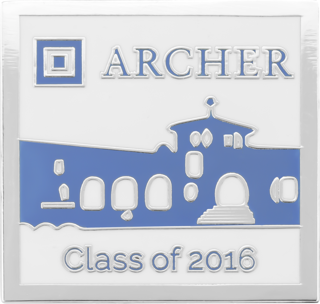 Lapel Pins Gallery Image - Archer Class Of 2016-2
