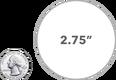 2.75 Inch