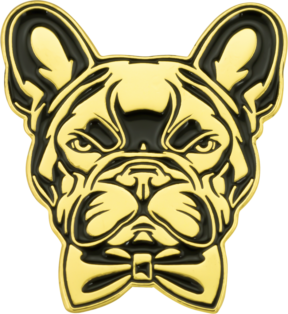 Lapel Pins Gallery Image - French Bulldog-2